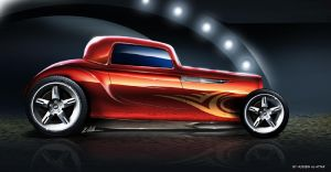 Hot Rod Concept by husseindesign