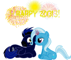 Bringing In The New Year With A Little Magic by mechafone