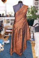 Copper Holiday Gown Const. 01 by Syagria