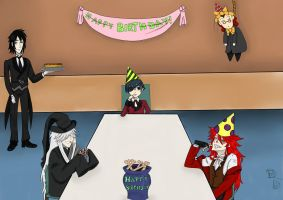 Black Butler Birthday Party by DancingBlackR