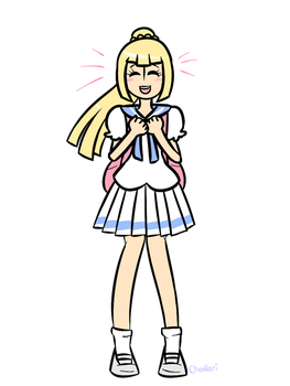 Lillie (spoilers) by KrazyCatQueen
