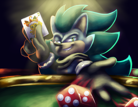 CE- Chucking the Dice by KJDragon70