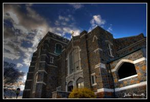 Church HDR by JohnDoe6