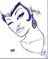daily inky fun 2 oct 2007 by Darkness33