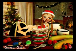 Christmas Cheers... by donnahagedorn