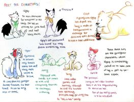 The Snow Foxes-character page by S-M-Batty