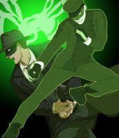 Green Hornet by doubleleaf