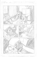 Thor Page 3 Pencils by Theamat