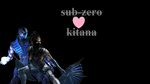 Sub-zero X Kitana mkx wallpaper by pandudragon234