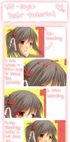 Visual Novel-style Hair Coloring Tutorial by Chiroyo