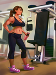 Lilith Works Out 1 by 0pik-0ort