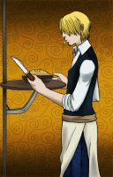 OP : Sanji the pie-maker by floangel