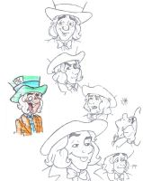Character Study: Mad Hatter by Katiediderdoo
