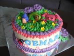B'day cake for Cemara by meechan