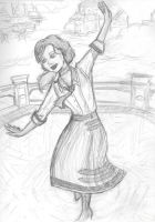 A Dance in Columbia (Sketch) by Willowwolf23