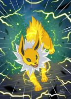 Go Jolteon by GeckUP