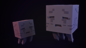Be careful! A wild Ghast appeared! by JARV69