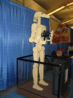 Giant lego Starwars droid by sabresteen
