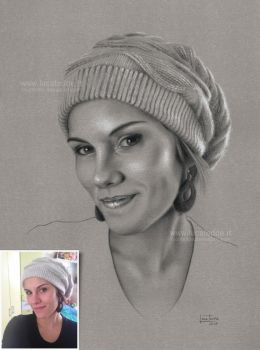 Sara - with reference picture by LucaTedde