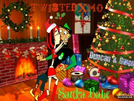 Santa Babe, DxG :DeathRock: by TwistedXmo