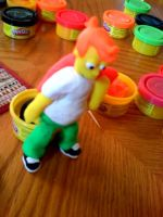 Fry of Play-Doh by CoreArt