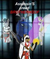 Assassin's Creed Brotherhoof cover 2 by Lucandreus