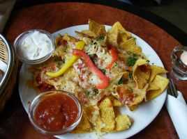 Nachos with cheese by Mariamus