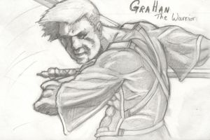 Graham the Warrior by Eyesopen24
