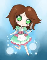 Chibi Alice - Siren dress by Mizdreavus