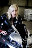 Motorcycle I by BlackCarrionRose