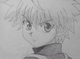 Killua by destructiveempathy