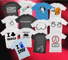 Shirts: Batch 1 by GAME-OVER-CUSTOM