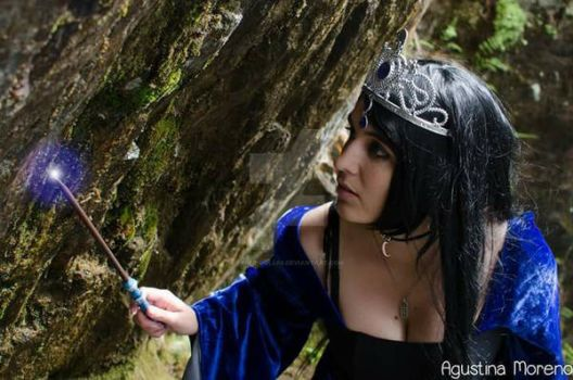 Rowena Ravenclaw cosplay by Paper-Doll89