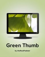 Green Thumb by theRealPadster