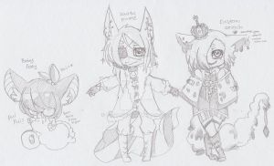 More Sketch fox Adopts {CLOSED} by Yuu-Tanni