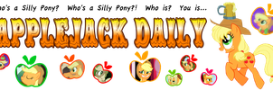 Applejack Daily Banner by C-quel
