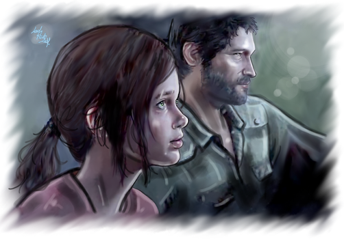 Ellie and Joel - Leaving this town by LadyMintLeaf