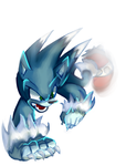 Weresonic Paint Practice by halfway-to-insanity