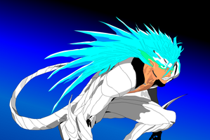grimmjow jeagerjaques by spikerman87