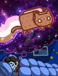 Cookie Nyan Cat by MyFebronia