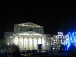 bolshoy theatre by LifeFun