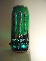 Monster Heavy Metal Can Light I by lizking10152011