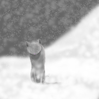 Snowstorm - Speedpaint. by IronMeow