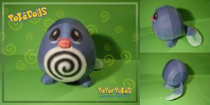 Poliwag doll papercraft by Lyrin-83