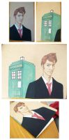 Dr. Who Journal by xh3llox