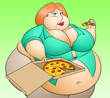 Large Lois Colored by masterd987
