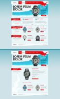 Diving watch promotion site by floydworx
