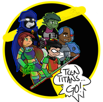 Titans Together! by Artistic-Winds
