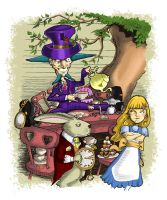 Mad Tea Party by AndyIomoon