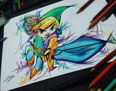 Toon Link by Loky-Roc